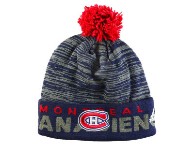 Montreal Canadiens adidas NHL Locker Room Cuffed Pom Knit