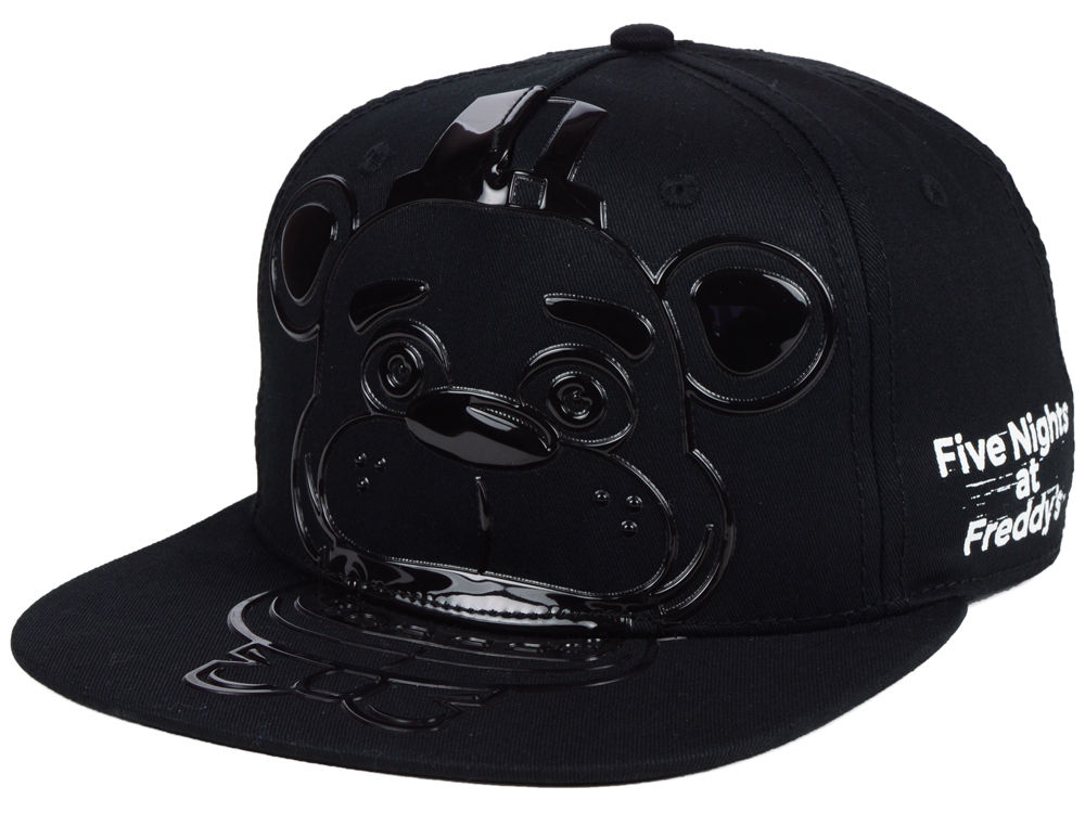 Five Nights at Freddy s Silicone Face Youth Snapback Cap  6987fa96f34