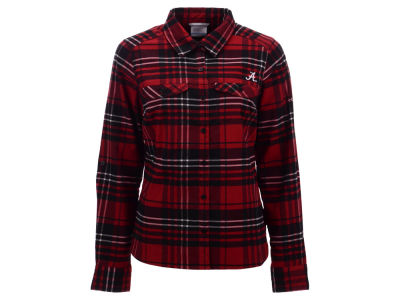 Alabama Crimson Tide Columbia NCAA Women's Collegiate Silver Ridge Flannel Shirt