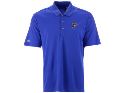 St. Louis Blues adidas NHL Men's Power Play Primary Polo