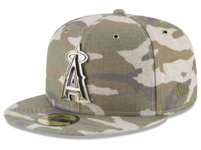 Los Angeles Angels New Era MLB Antique Camo 59FIFTY Cap