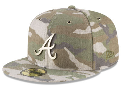 Atlanta Braves New Era MLB Antique Camo 59FIFTY Cap