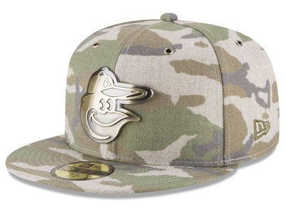 Baltimore Orioles New Era MLB Antique Camo 59FIFTY Cap