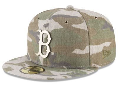Boston Red Sox New Era MLB Antique Camo 59FIFTY Cap