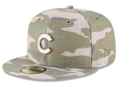Chicago Cubs New Era MLB Antique Camo 59FIFTY Cap