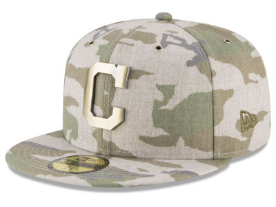 Cleveland Indians New Era MLB Antique Camo 59FIFTY Cap
