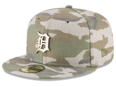 Detroit Tigers New Era MLB Antique Camo 59FIFTY Cap