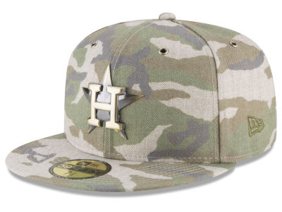 Houston Astros New Era MLB Antique Camo 59FIFTY Cap