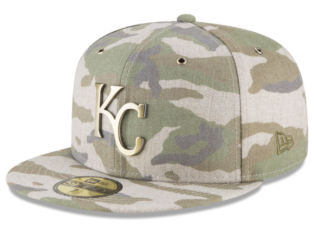 Kansas City Royals New Era MLB Antique Camo 59FIFTY Cap  79e34b696c6