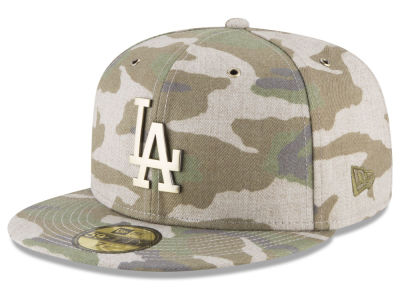 Los Angeles Dodgers New Era MLB Antique Camo 59FIFTY Cap