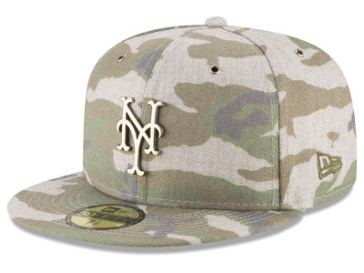 New York Mets New Era MLB Antique Camo 59FIFTY Cap
