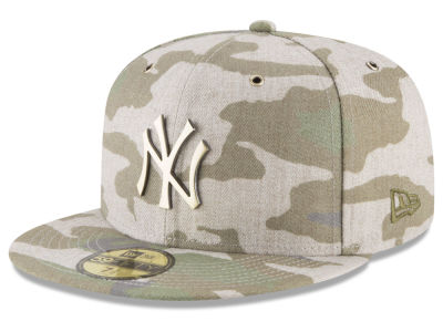 New York Yankees New Era MLB Antique Camo 59FIFTY Cap
