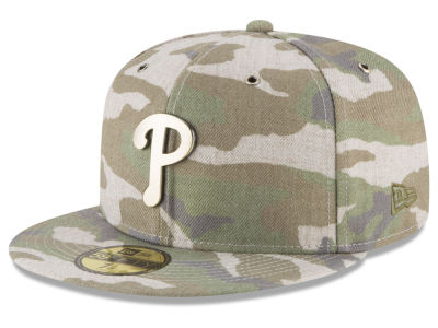 Philadelphia Phillies New Era MLB Antique Camo 59FIFTY Cap