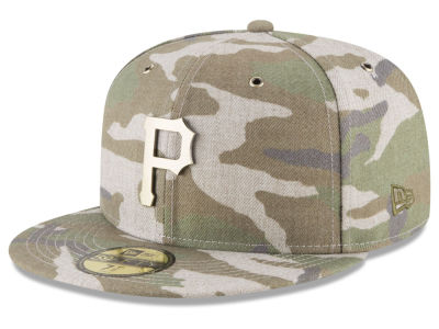 Pittsburgh Pirates New Era MLB Antique Camo 59FIFTY Cap
