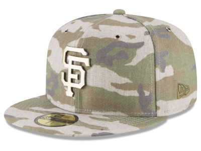 San Francisco Giants New Era MLB Antique Camo 59FIFTY Cap
