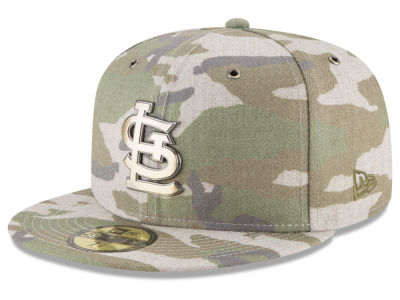 St. Louis Cardinals New Era MLB Antique Camo 59FIFTY Cap
