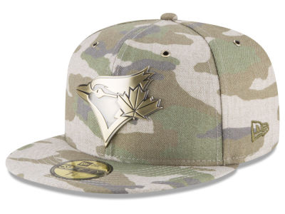 Toronto Blue Jays New Era MLB Antique Camo 59FIFTY Cap
