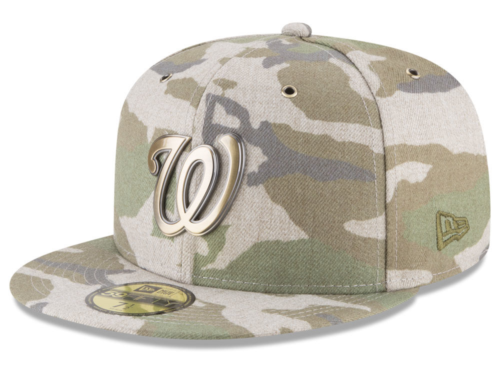 Washington Nationals New Era MLB Antique Camo 59FIFTY Cap  a0681368d19