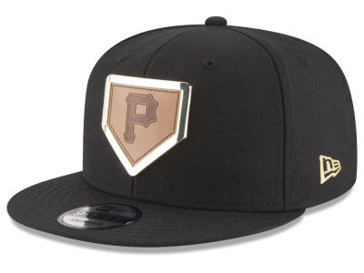 Pittsburgh Pirates New Era MLB Framed Leather 9FIFTY Snapback Cap