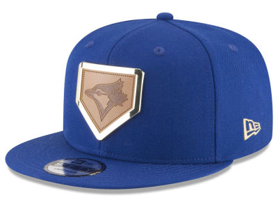 Toronto Blue Jays New Era MLB Framed Leather 9FIFTY Snapback Cap