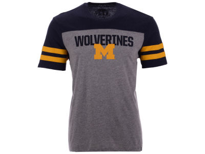 Michigan Wolverines '47 NCAA Men's Tri-Colored T-Shirt
