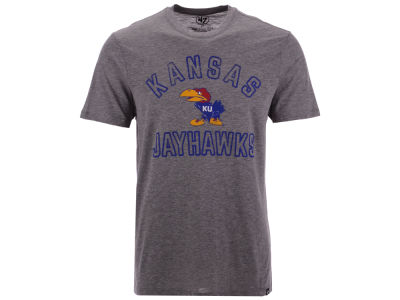 Kansas Jayhawks '47 NCAA Men's Hollow Arch Match T-Shirt