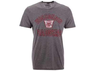 Wisconsin Badgers '47 NCAA Men's Hollow Arch Match T-Shirt