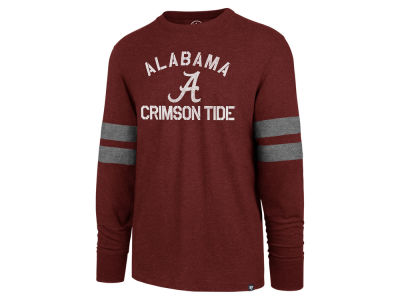 Alabama Crimson Tide '47 NCAA Men's Long Sleeve Scramble T-Shirt