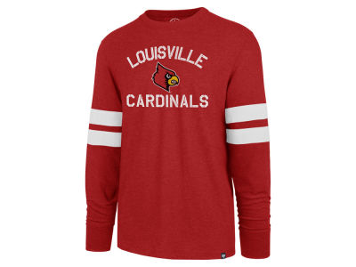 Louisville Cardinals '47 NCAA Men's Long Sleeve Scramble T-Shirt