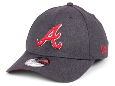 Atlanta Braves New Era MLB Charcoal Classic 39THIRTY Cap
