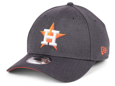 Houston Astros New Era MLB Charcoal Classic 39THIRTY Cap