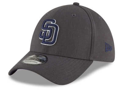 San Diego Padres New Era MLB Charcoal Classic 39THIRTY Cap