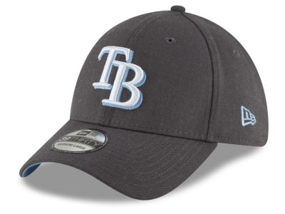 Tampa Bay Rays New Era MLB Charcoal Classic 39THIRTY Cap