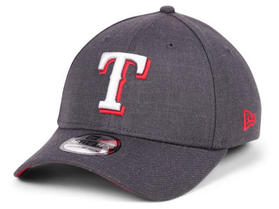 Texas Rangers New Era MLB Charcoal Classic 39THIRTY Cap