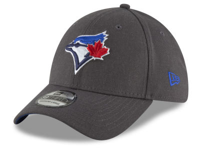 Toronto Blue Jays New Era MLB Charcoal Classic 39THIRTY Cap