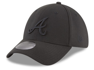 Atlanta Braves New Era MLB Blackout 39THIRTY Cap