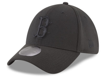 Boston Red Sox New Era MLB Blackout 39THIRTY Cap