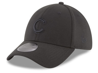 Chicago Cubs New Era MLB Blackout 39THIRTY Cap