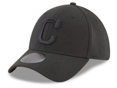 Cleveland Indians New Era MLB Blackout 39THIRTY Cap
