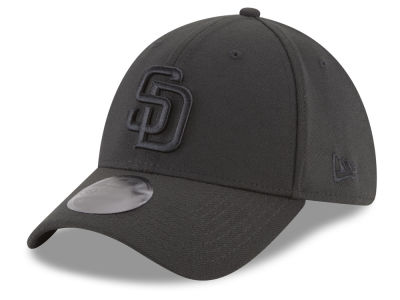 San Diego Padres New Era MLB Blackout 39THIRTY Cap