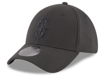Seattle Mariners MLB Blackout 39THIRTY Cap