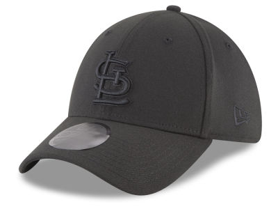 St. Louis Cardinals New Era MLB Blackout 39THIRTY Cap