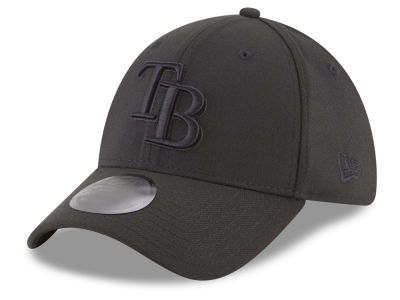 Tampa Bay Rays New Era MLB Blackout 39THIRTY Cap