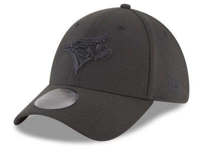 Toronto Blue Jays New Era MLB Blackout 39THIRTY Cap