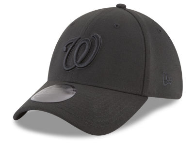 Washington Nationals New Era MLB Blackout 39THIRTY Cap