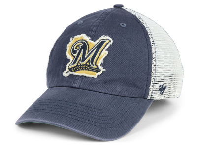 Milwaukee Brewers '47 MLB Tally '47 CLOSER Cap