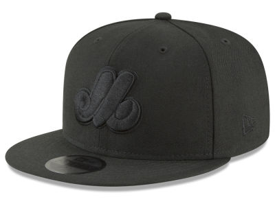 25d1d5a2639 Montreal Expos New Era MLB Blackout 59FIFTY Cap