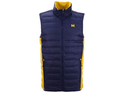 Michigan Wolverines Columbia NCAA Men's Lake 22 Reversible Vest
