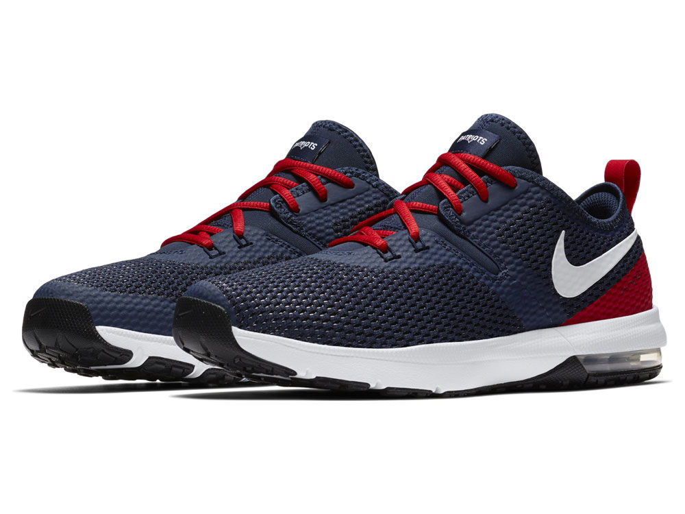e7207d83335 New England Patriots Nike NFL Men s Air Max Typha 2 Week Zero Trainer Shoes