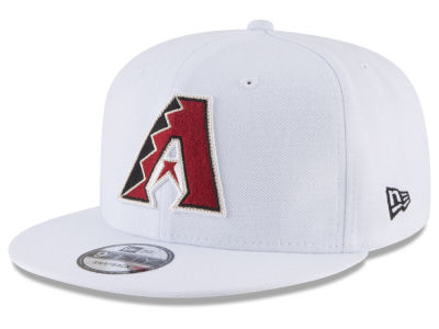 Arizona Diamondbacks New Era MLB White 9FIFTY Snapback Cap